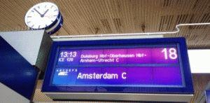 поезд Амстердам расписание фото