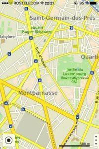 MapsWithMe приложение для айфона