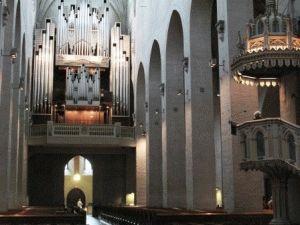 Внутри собора Турку фото