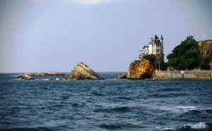 море Биариц фото