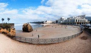 Гран Пляж Биариц фото