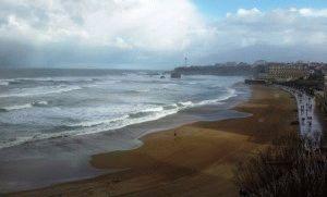 биарриц франция фото пляж