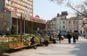 Бургас город Болгария фото