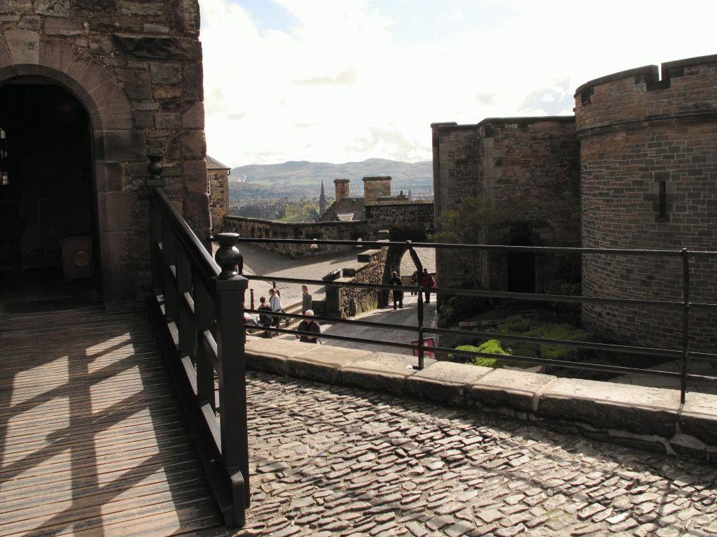 Эдинбург замок фото Шотландия