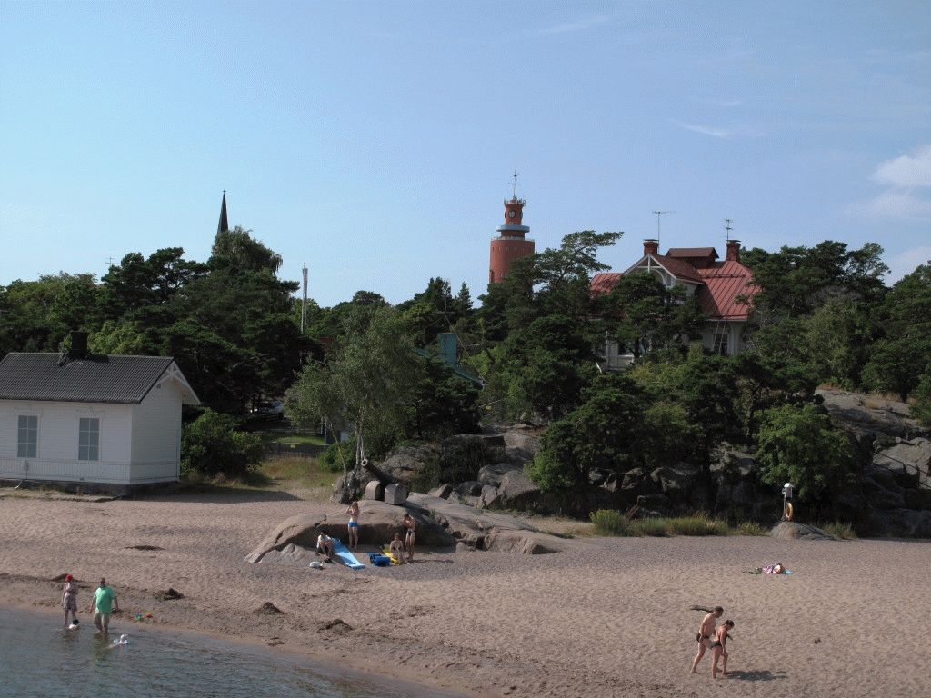 ханко пляж город фото финляндия