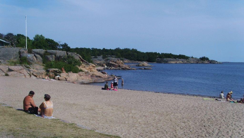 город Ханко Финляндия пляж фото