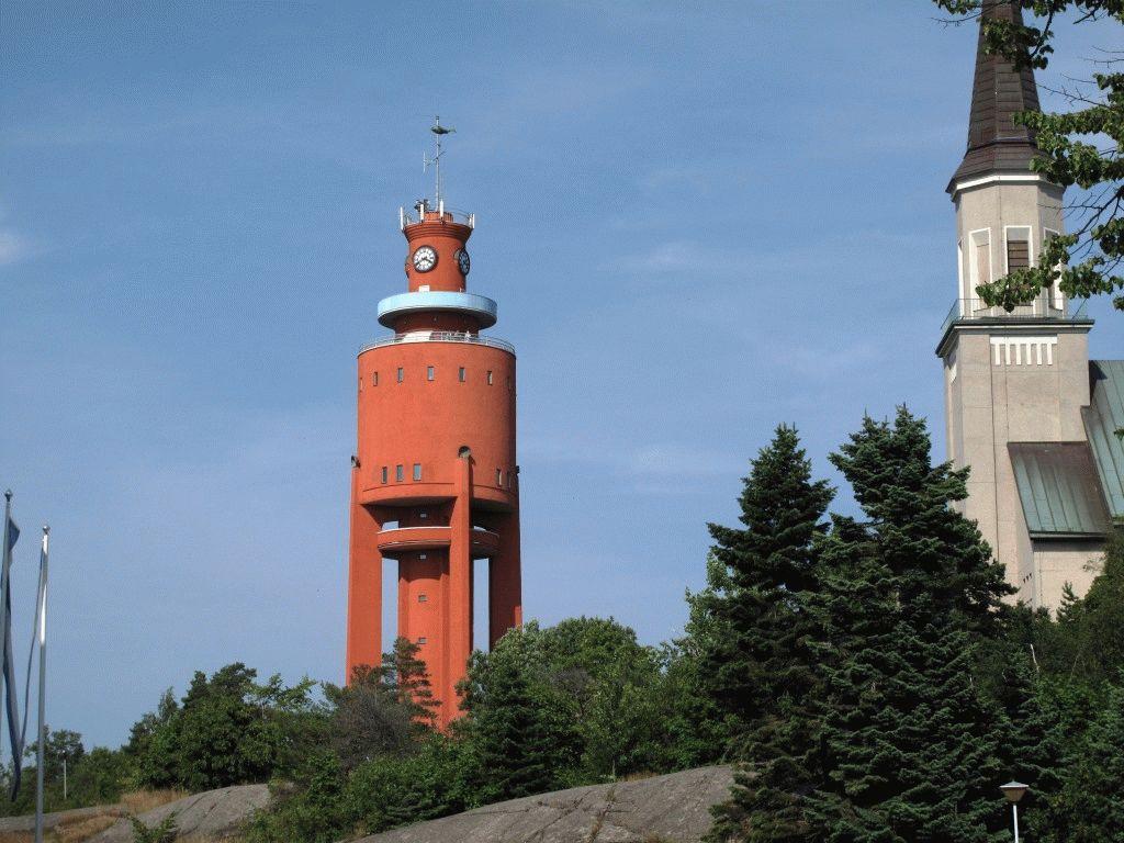 город Ханко Финляндия фото