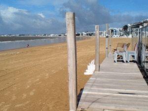 Ля Боль Франция курорт пляж фото