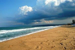 песчаный пляж Обзор Болгария фото