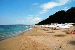 пляж город Обзор болгария фото