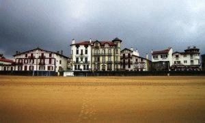 Сен Жан де Люз Франция пляж фото