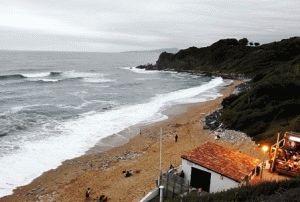 Сен-Жан-де-Люз, Франция – Бискайский залив у ваших ног фото