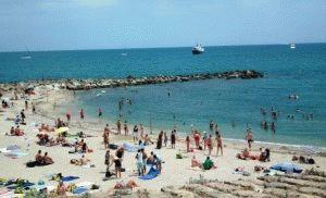 пляжи антиб франция фото