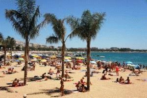 Канны Франция фото пляж