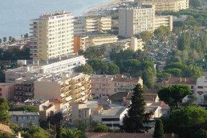город le lavandu Ле Лаванду франция фото
