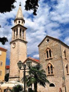Будва Черногория достопримечательности церковь фото