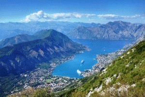Бухта Бока Которска фото черногория
