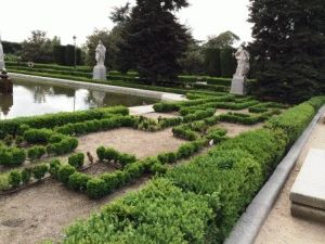 сады Сабатини мадрид королевский фото