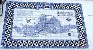 Район Алфама Лиссабон