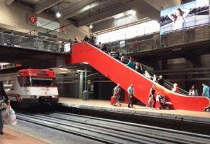 мадрид вокзал cerkanias фото электричка