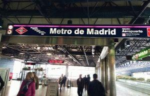 метро мадрид фото