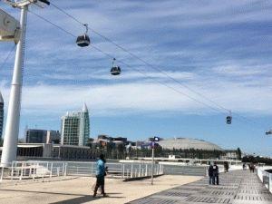 Парк Наций в Лиссабоне - как добраться фото