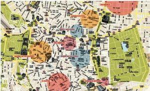 Районы Мадрида карта
