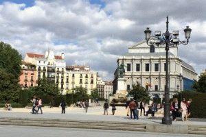 площадь Ориенте Мадрид фото