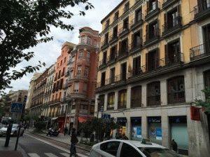 calle mayor madrid фото