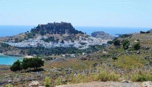 Линдос Родос, Греция – достопримечательности фото