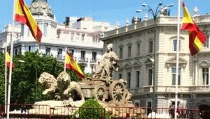 фонтан Сибелис Мадрид фото