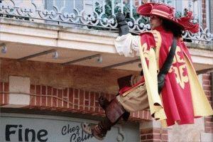 Puy Du Fou - тематический парк развлечений во Франции мушкетеры