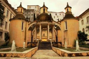 достопримечательности Коимбры Португалия фото