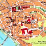 coimbra карта Коимбра Португалия скачать