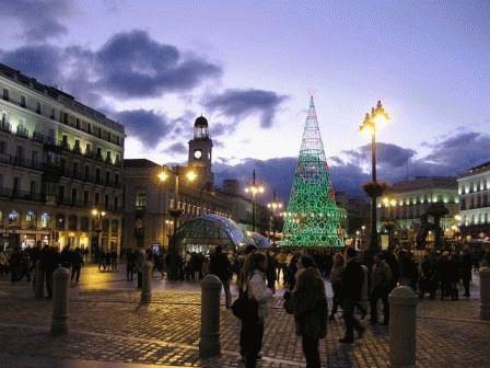 Испания в декабре Новый год фото
