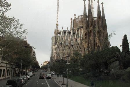 Испания в Ноябре Саграда фамилия фото