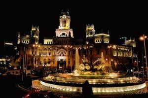 Испания в ноябре фото Мадрид