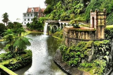 сады Фуншала Мадейра фото