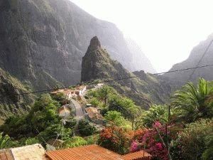 Тенерифе Канарские острова фото ущелье Маска