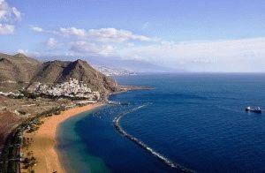Тенерифе Канарские острова фото пляжи песок