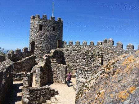 замок мавров Синтра фото