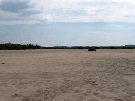 Блендовская пустыня - самая большая в Европе