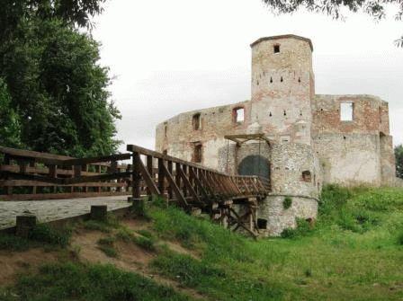 Замок Севеж Силезия Польша фото
