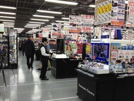 akihabara электроника в Японии