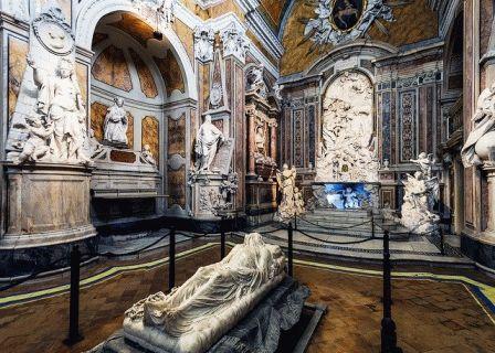 Cappella Sansevero Капелла Сан-Северо Неаполь Италия фото
