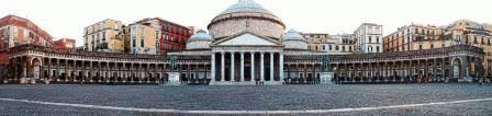 Piazza del Plebiscito Площадm Плебисцита Неаполь фото