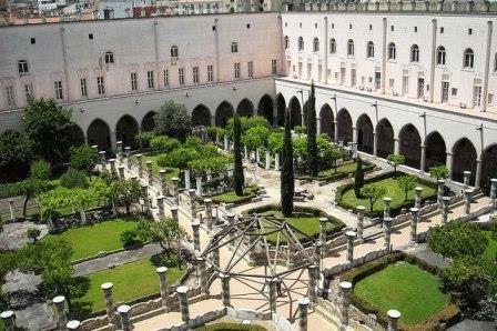Santa Chiara монастырь Святой Клары Неаполь фото