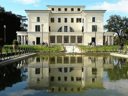 Villa Torlonia Вилла Торлония Рим фото