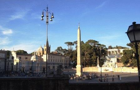 popolo площадь дель Пополо рим фото