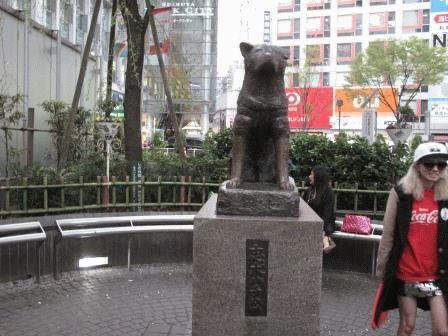Токио Хатико Япония фото